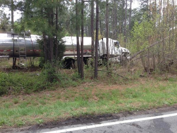 Chemical Truck Accident, Central Region. Ashland,Virginia