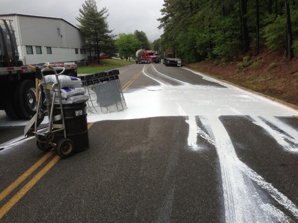Paint Spill, Central Region. Henrico, Virginia