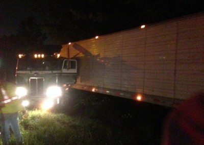 Tractor Trailer Accident, Central Region. Ashland, Virginia