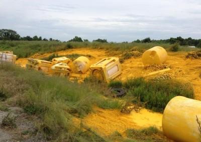 Paint spill, Central Region. Mechanicsville, Virginia