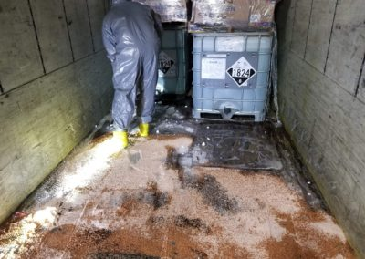 Sodium Hydroxide Release Cleanup