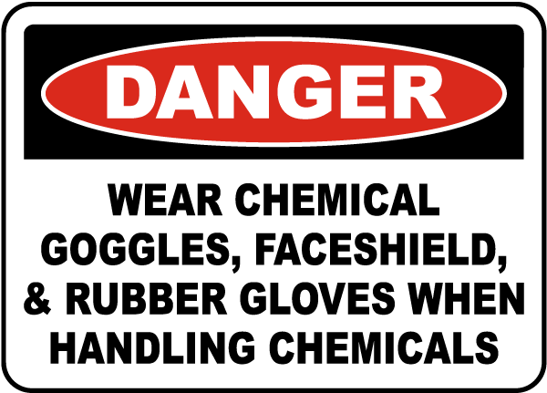 The risks of not wearing the right chemical PPE