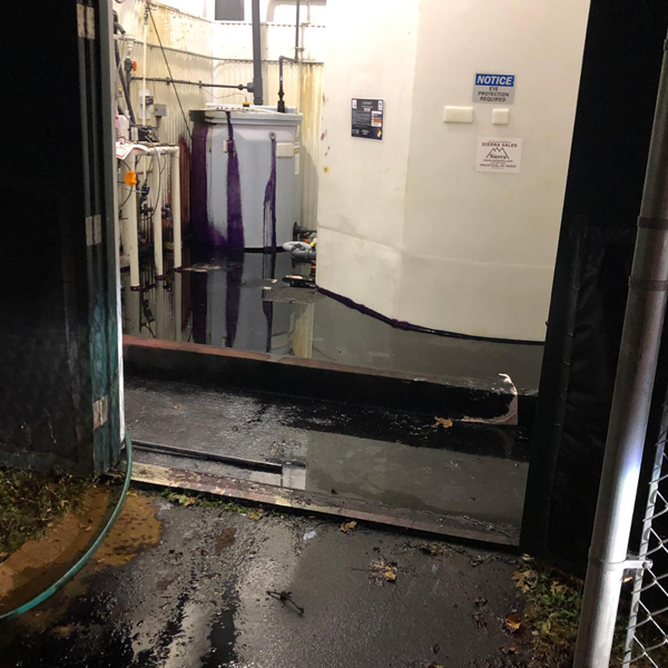 Latest Response – More than 1,000 gallons of sodium permanganate spill