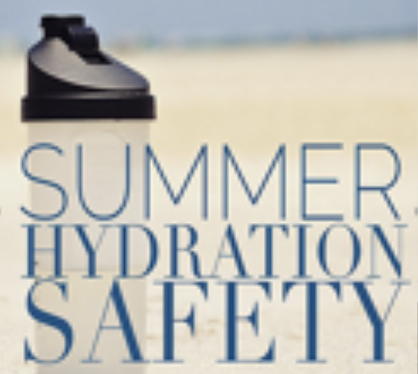 July Safety Corner – Dehydration